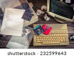 finding solutions algorithm of... | Shutterstock . vector #232599643