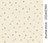 Polka Dot Star Golden Paper...