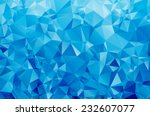 abstract geometric vector... | Shutterstock .eps vector #232607077