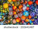 Background Of Colorful Glass...