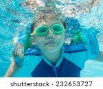 asian kid activity. | Shutterstock . vector #232653727