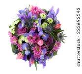 Bouquet Made Of Iris ...