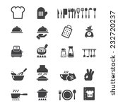 cook icon | Shutterstock .eps vector #232720237