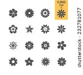 set of flower. vector... | Shutterstock .eps vector #232781077
