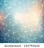 constellation with stars on... | Shutterstock .eps vector #232795633