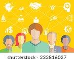 entrepreneurship  startup... | Shutterstock .eps vector #232816027