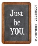 just be you advice on an... | Shutterstock . vector #232855207