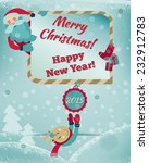 2015 happy new year greeting...   Shutterstock .eps vector #232912783
