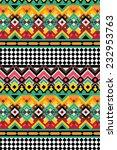 ethnic pattern | Shutterstock .eps vector #232953763