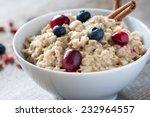 breakfast oatmeal porridge with ... | Shutterstock . vector #232964557