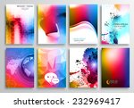 set of flyer design  web...   Shutterstock .eps vector #232969417