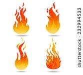 fire vector | Shutterstock .eps vector #232994533