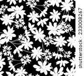 Stock vector flower pattern 233008267
