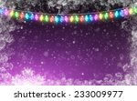 winter holidays background | Shutterstock . vector #233009977