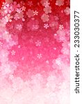cherry plum greeting cards | Shutterstock .eps vector #233030377