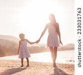 mother and daughter happy in... | Shutterstock . vector #233031763