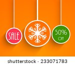 Christmas Sale Poster With...