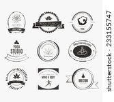������, ������: Set of logos for