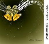 christmas vector background. | Shutterstock .eps vector #233170333