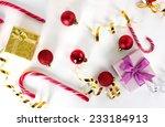 christmas decoration  gift... | Shutterstock . vector #233184913
