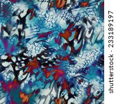 modern abstract animal texture  ... | Shutterstock . vector #233189197