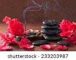 Azalea Flowers Black Massage...