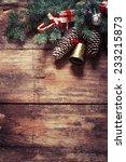 christmas fir tree with... | Shutterstock . vector #233215873