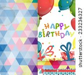 colorful birthday background.