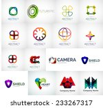 abstract company logo vector... | Shutterstock .eps vector #233267317