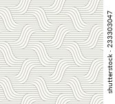 vector seamless pattern. modern ... | Shutterstock .eps vector #233303047