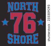 sport college  typography  t... | Shutterstock .eps vector #233309293