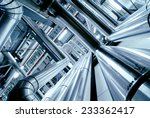 industrial zone  steel... | Shutterstock . vector #233362417