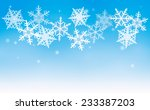 this is an illustration of snow ... | Shutterstock .eps vector #233387203