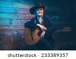 Cowgirl Country Singer With...