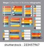 Infographic Templates for Business Vector Illustration. EPS10 | Shutterstock vector #233457967