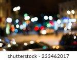 city night lights | Shutterstock . vector #233462017