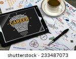 career concept | Shutterstock . vector #233487073