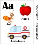 cute and colorful alphabet... | Shutterstock .eps vector #233500927