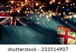 fiji national flag light night... | Shutterstock . vector #233514907