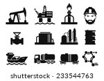 gas and oil icons set    01 | Shutterstock .eps vector #233544763
