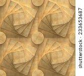 3d pattern  seamless puzzle ...   Shutterstock . vector #233653687