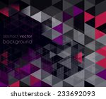 modern abstract vector colorful ... | Shutterstock .eps vector #233692093