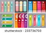 colorful modern text box... | Shutterstock .eps vector #233736703