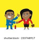make a good deal. | Shutterstock .eps vector #233768917