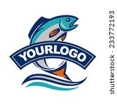 fish vector design logo... | Shutterstock .eps vector #233772193
