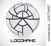 vector logo design template .... | Shutterstock .eps vector #233776507