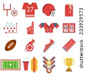 colored vector icons for... | Shutterstock .eps vector #233929573