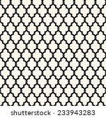 seamless pattern in islamic... | Shutterstock .eps vector #233943283