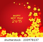 chinese new year   greeting...   Shutterstock . vector #233978137