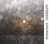 glitter vintage lights...   Shutterstock . vector #234001243